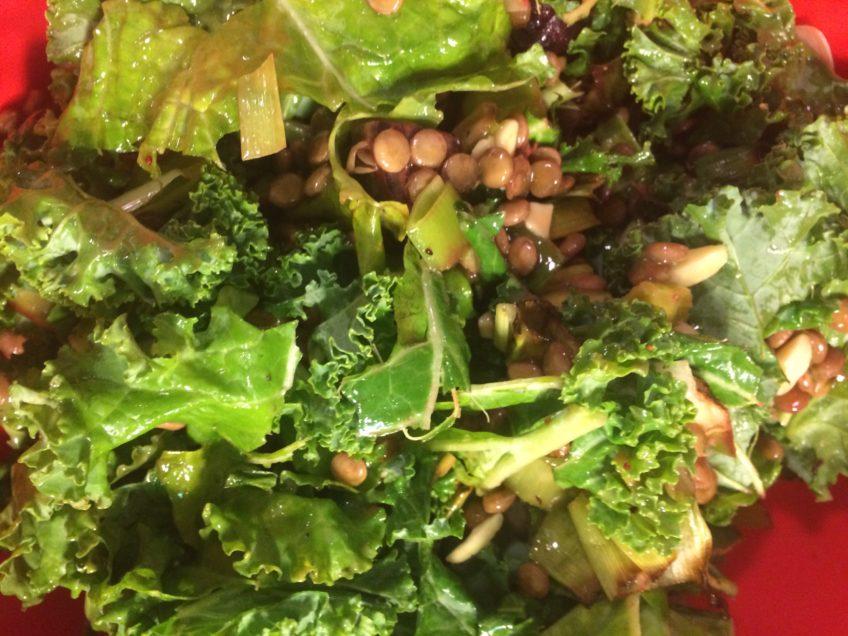 Roasted Beet and Lentil Salad