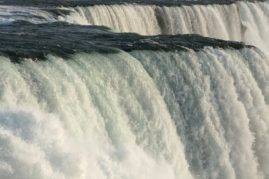 The waters of Niagara