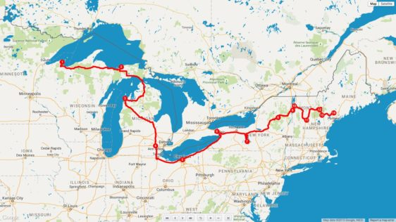 Routing the First Ten Days