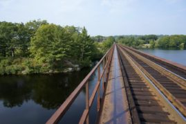 Bridge over the Androscoggin