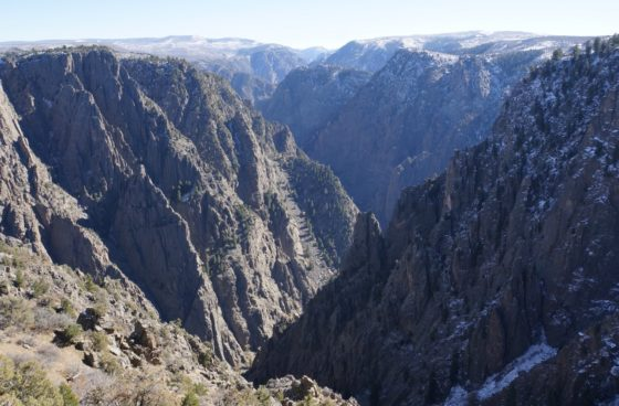 Black Canyon from the South Rim.